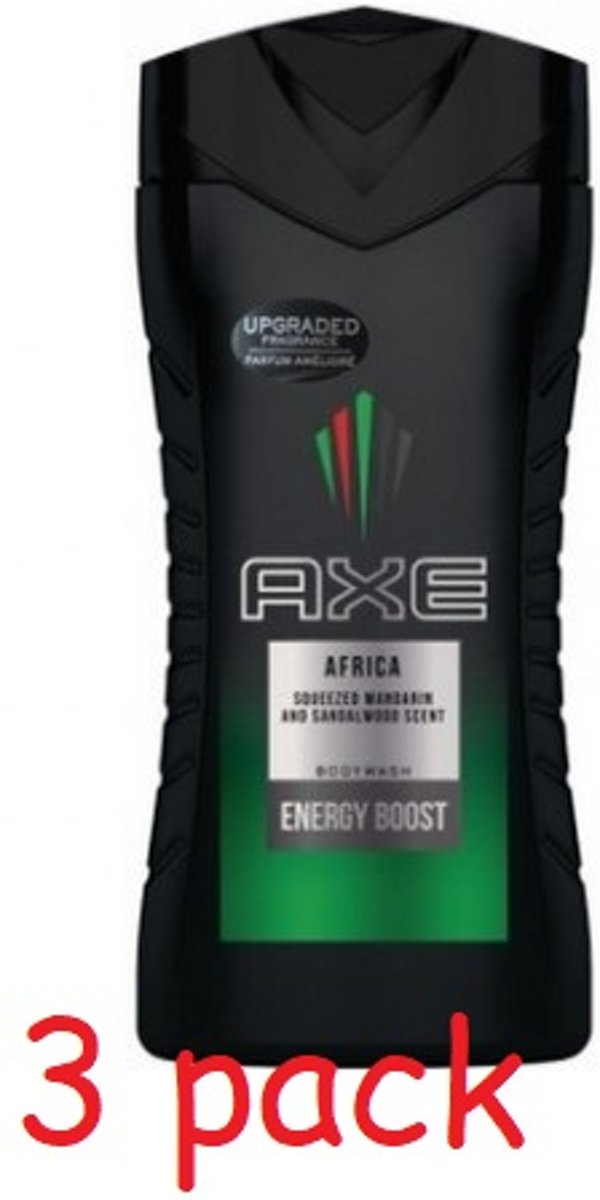 Axe Douchegel – Africa 3 × 250 ml