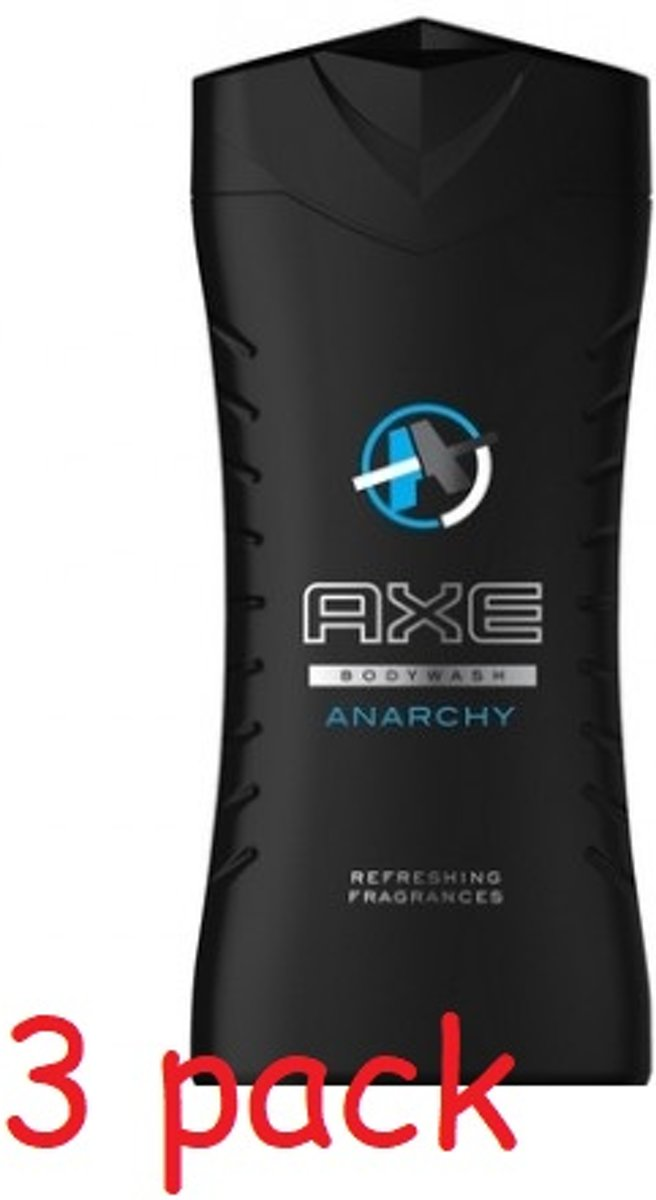 Axe Douchegel – Anarchy for Him 3 × 250 ml