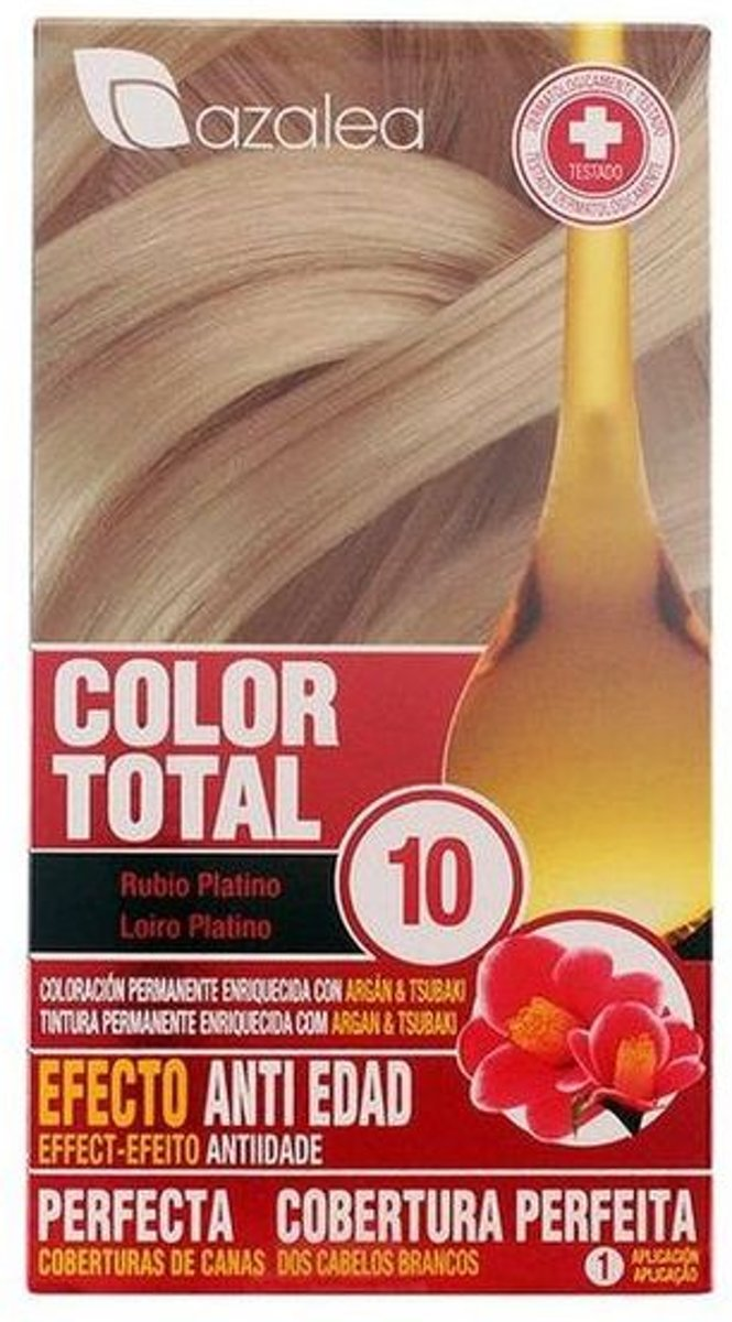 Azalea Color Total 10 Blonde Hair Platinum