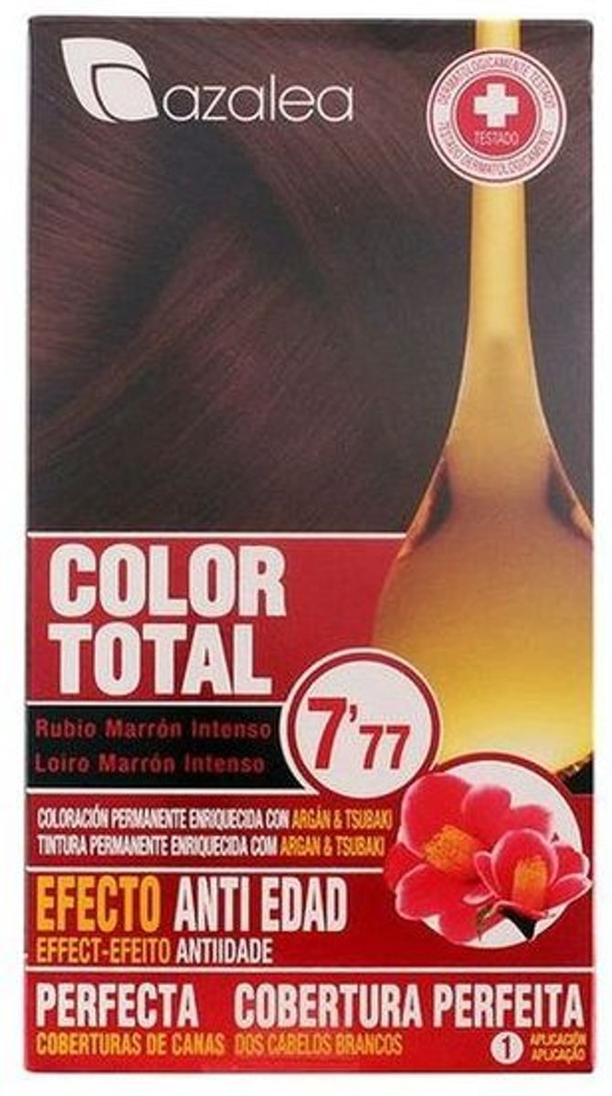 Azalea Color Total 7,77 Blond Hair Intense Brown