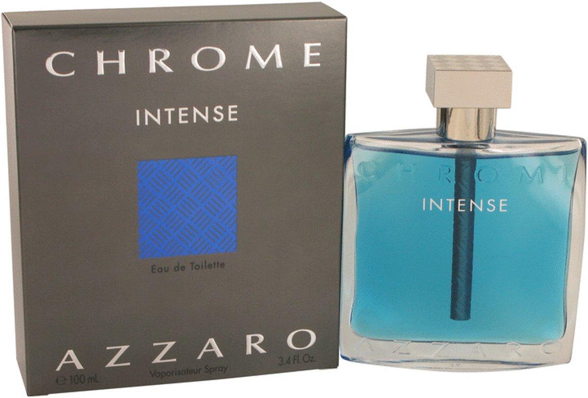 eebd3d4581 Azzaro - CHROME INTENSE - eau de toilette - spray 100 ml
