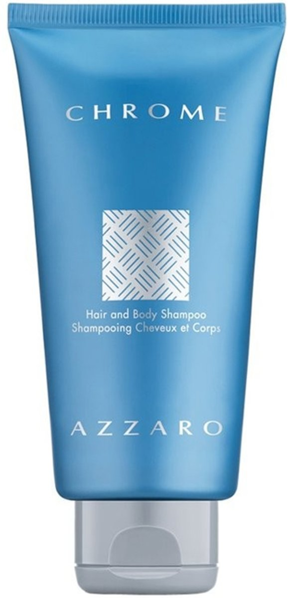 Azzaro Chrome - 300 ml - Hair & Body Shampoo - Shower Gel