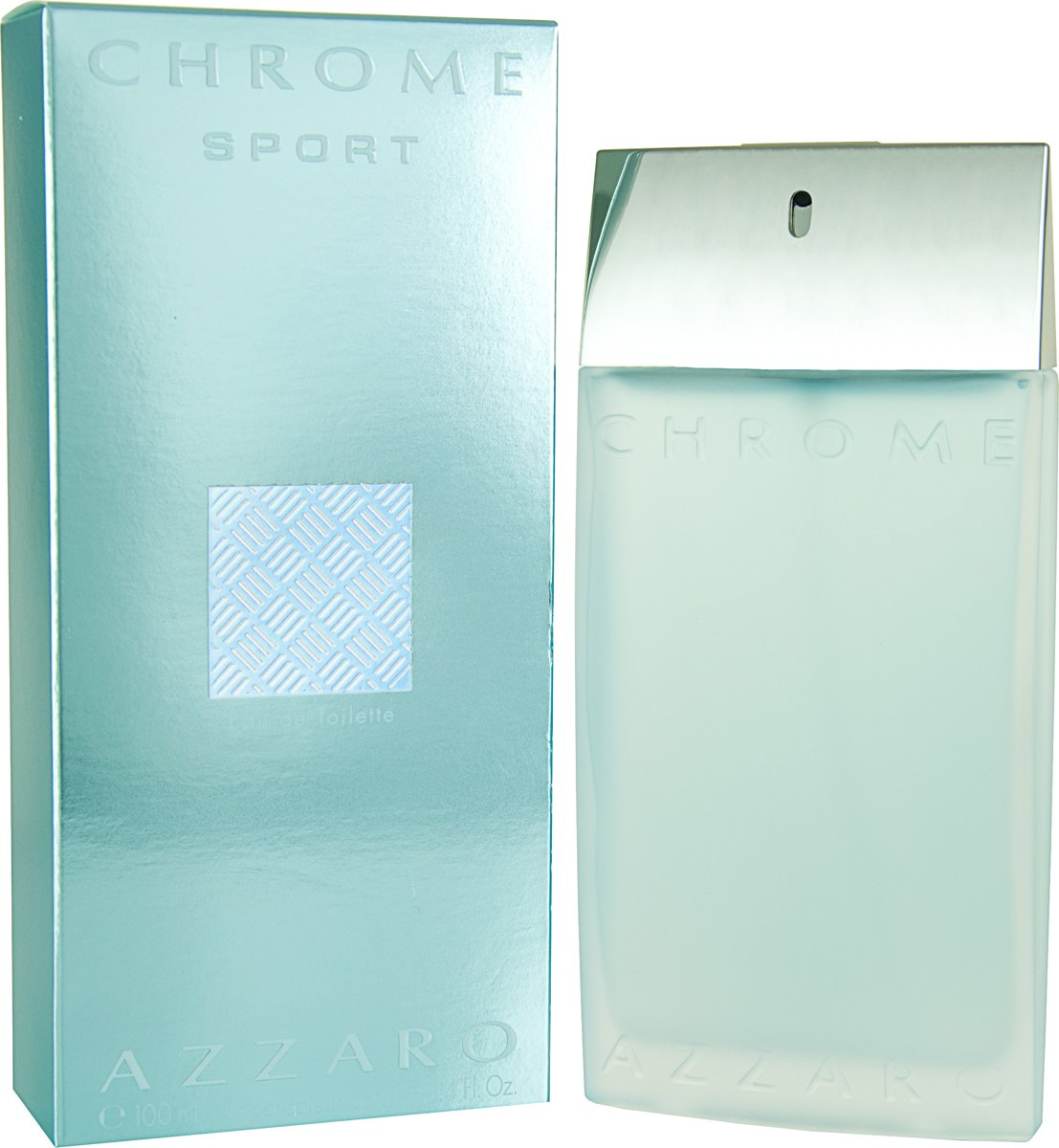 Azzaro Chrome Sport for Men - 100 ml - Eau de toilette
