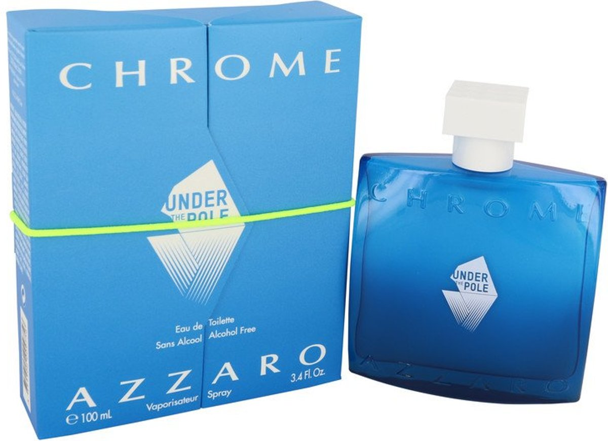 Azzaro Chrome Under The Pole eau de toilette spray 100 ml