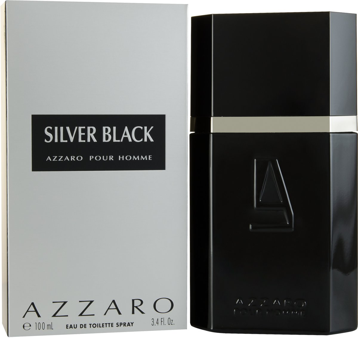 Azzaro Silver Black - 100 ml - Eau de toilette