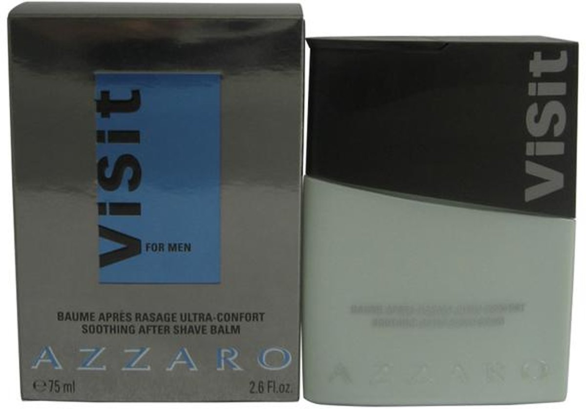 Azzaro Visit By Azzaro Aftershave Balm 75 ml - Fragrances For Men