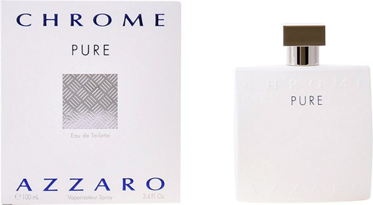 Herenparfum Chrome Pure Azzaro EDT