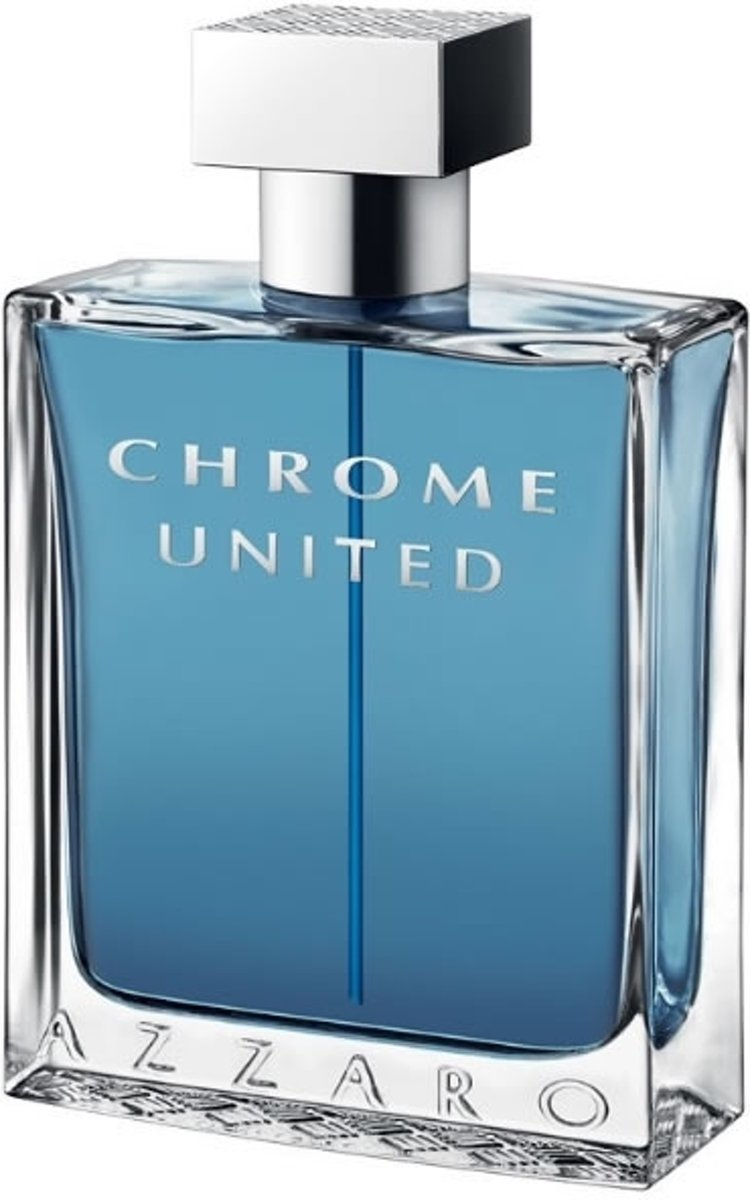 MULTI BUNDEL 2 stuks Azzaro Chrome United Eau De Toilette Spray 100ml