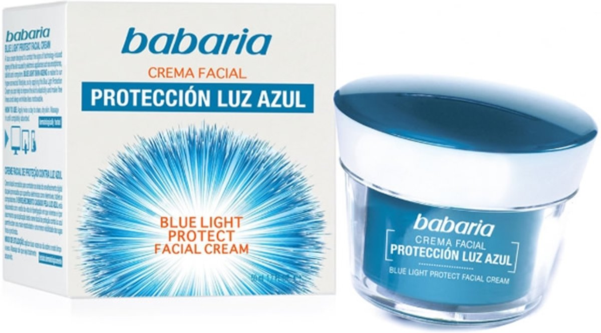 Babaria Blue Light Protect Facial Cream 50ml