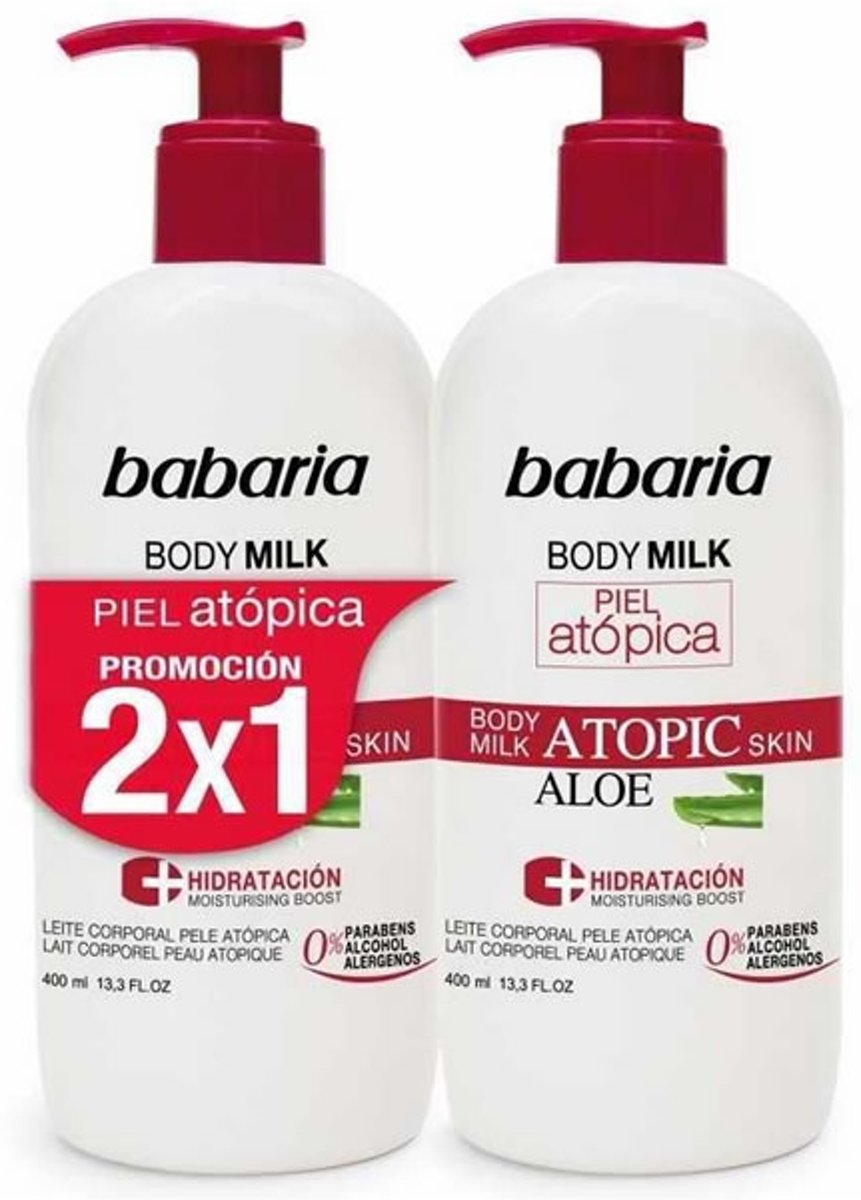 Babaria Body Milk Atopic Skins 400ml Set 2 Pieces