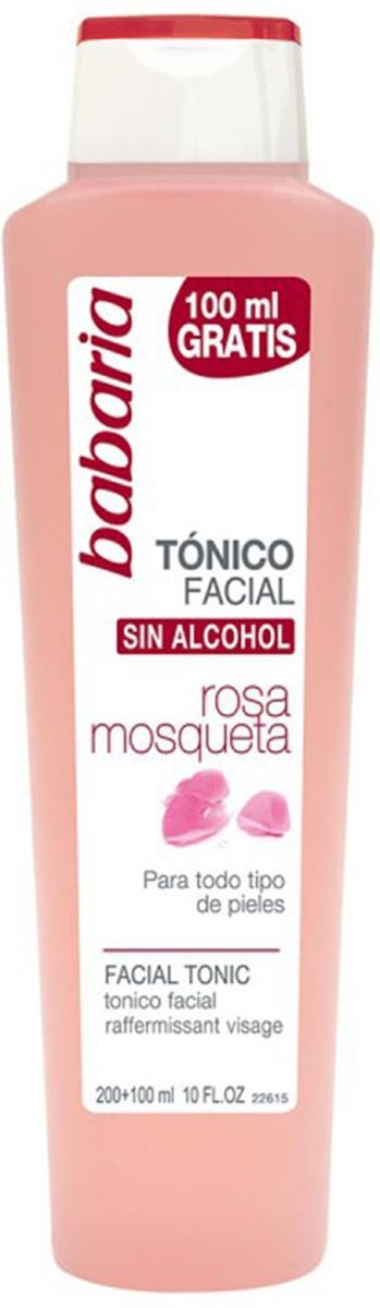 Babaria Facial toner Rosehip Oil 300 ml