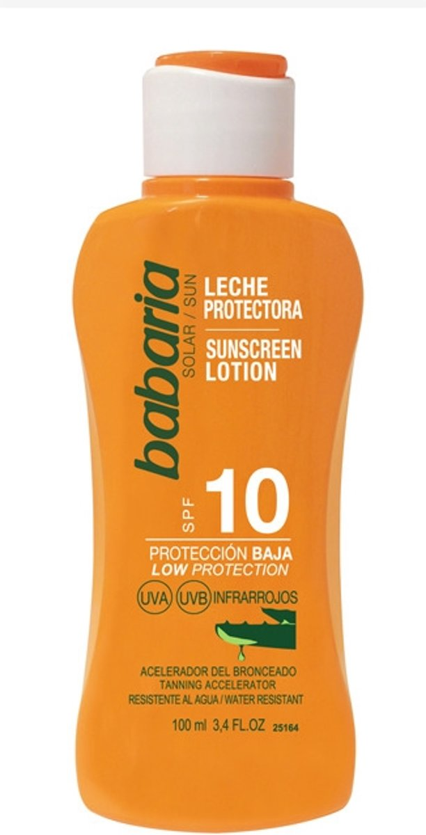 Babaria Sunscreen Lotion Spf10 Aloe Vera 100ml