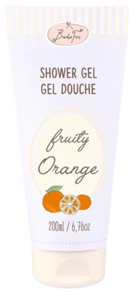 showergel fruity orange