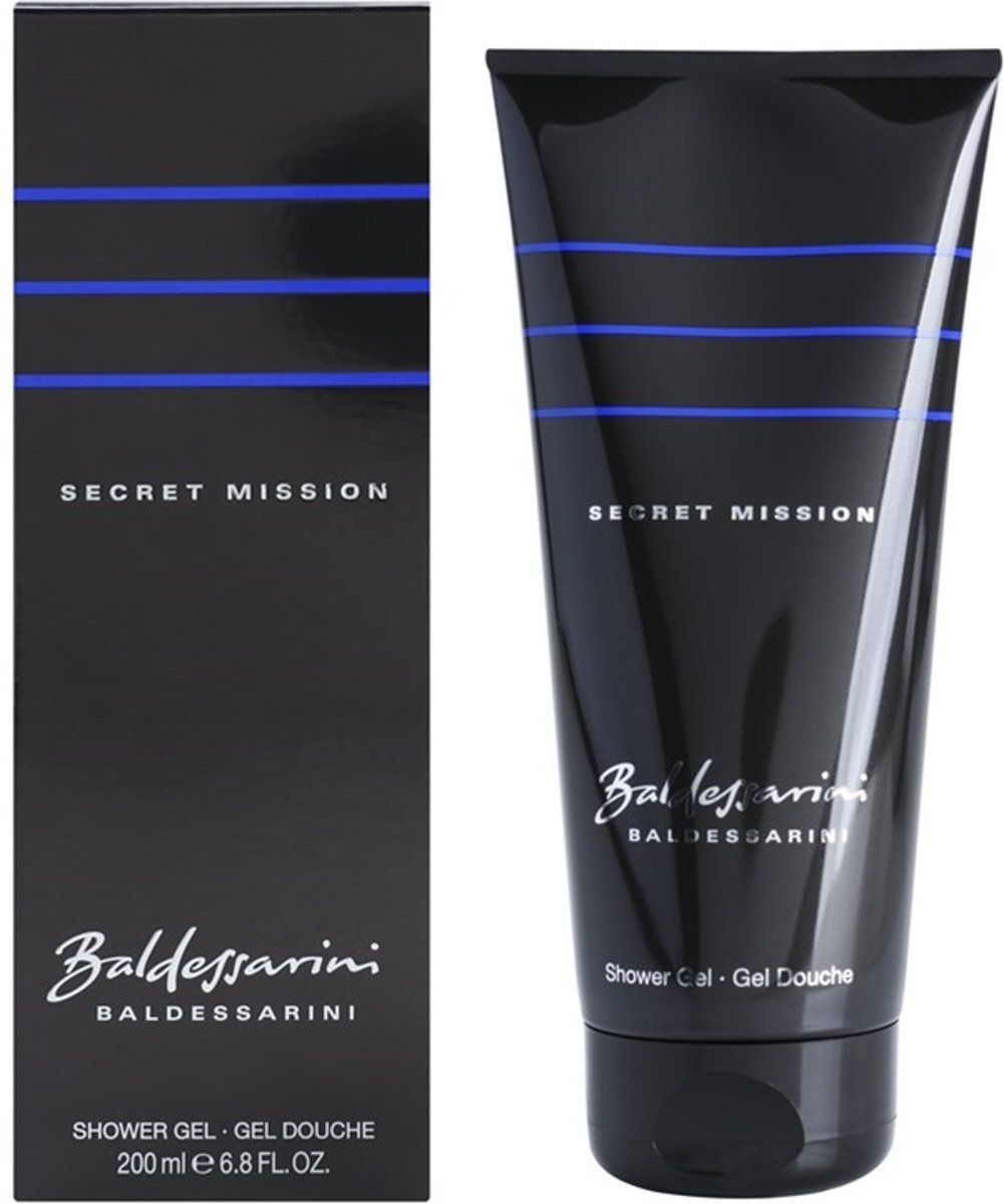 Baldessarini Secret Mission Shower Gel 200ml