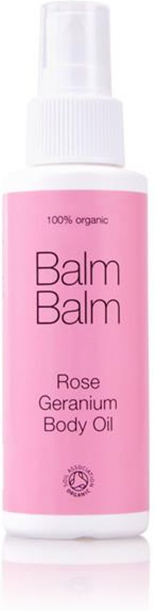 Balm Balm Rose Geranium Body Oil 100ml.