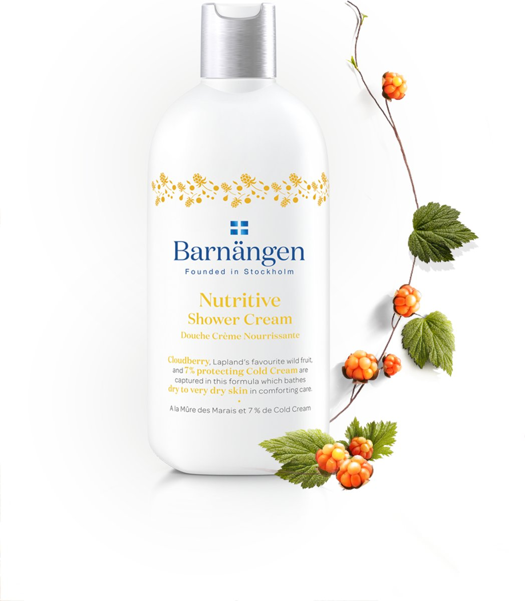 Barnängen Nordic Care Nutritive Douche Creme 400ml - 1 stuk