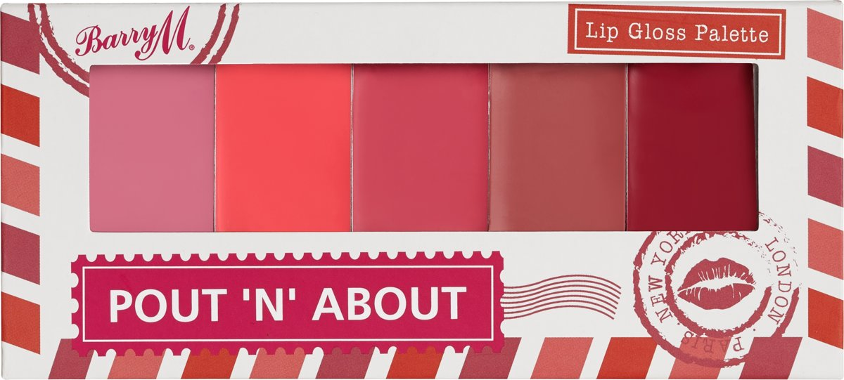 Barry M Pout n About Lip Gloss Palette