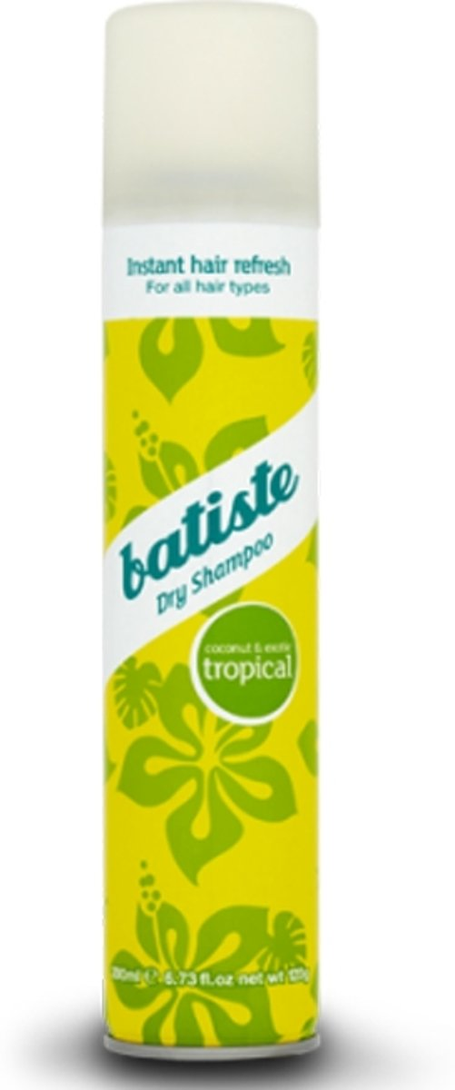 Batiste Tropical - 200 ml - Droogshampoo