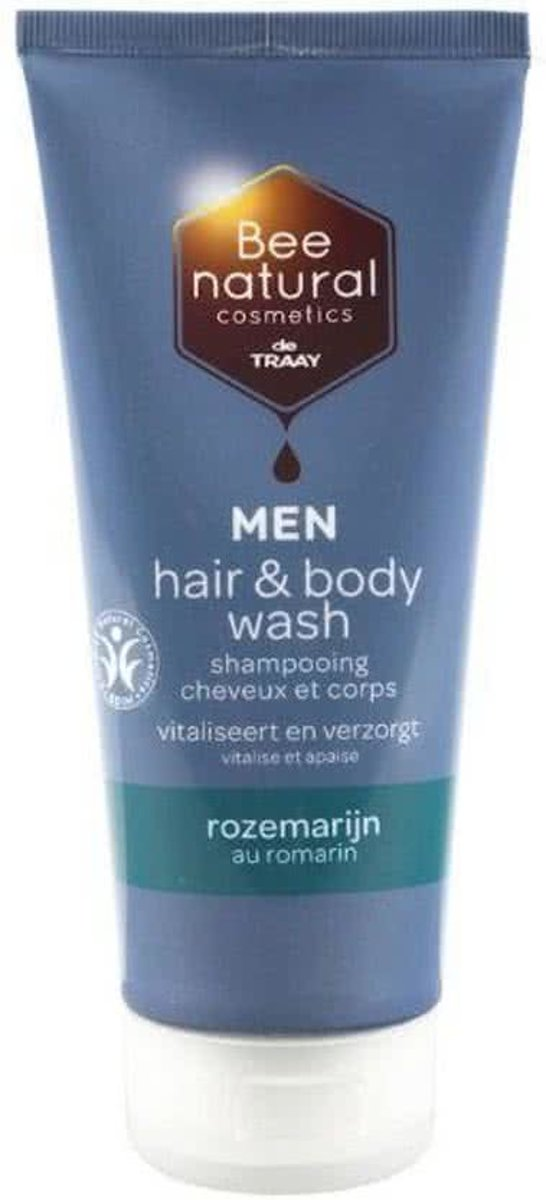 Traay bee nat.hair&b.men roz.+ 200 ml