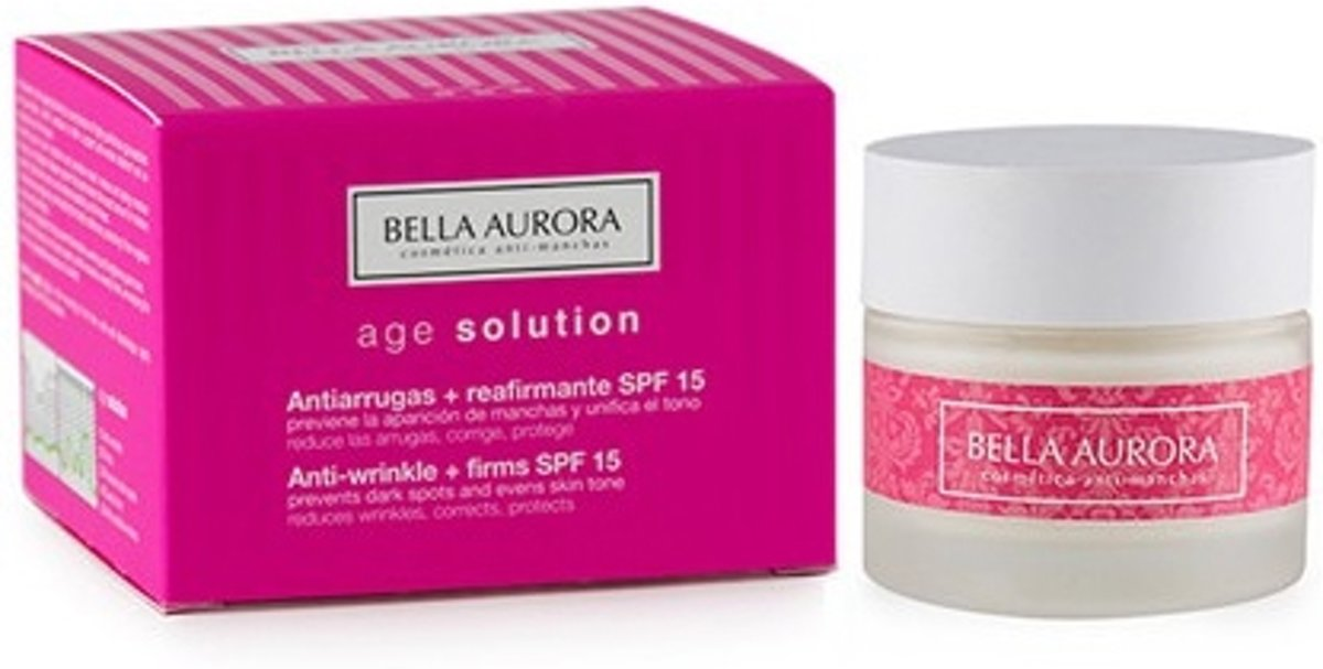 Anti-Rimpelcrème Age Solution Bella Aurora
