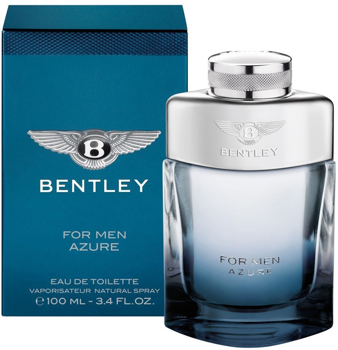 Bentley Azure 100 ml Eau De Toilette + Gratis 7 ml Eau De Toilette voor mannen