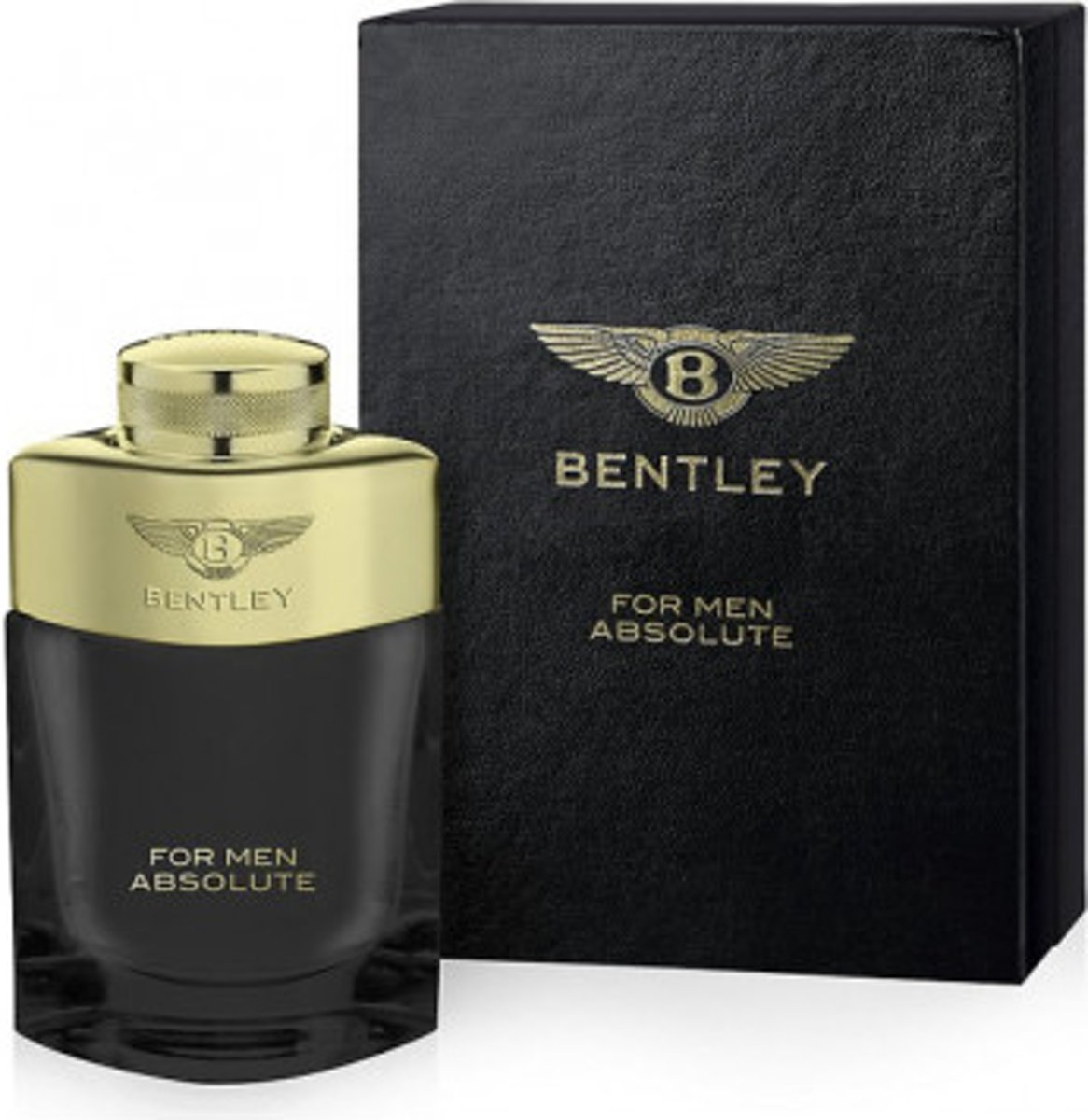 Bentley for man absolute edp 100 ml spray