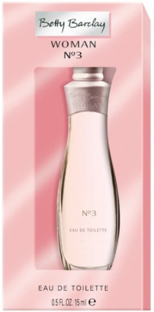 Betty Barclay Women No.3 - 15 ml - Eau de toilette