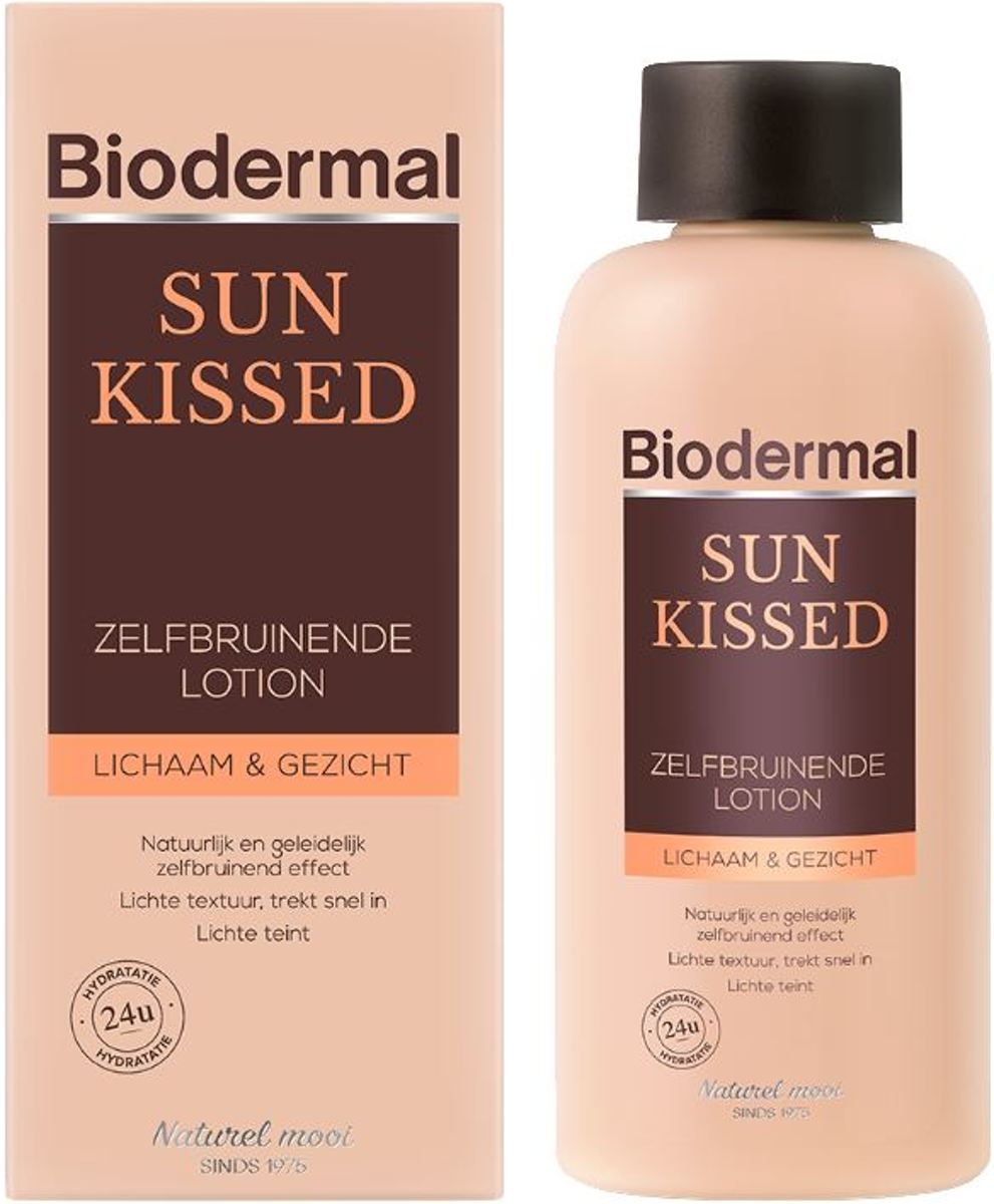 Biodermal Zonnebankcreme - Self-tanning Body Light 200ml NL