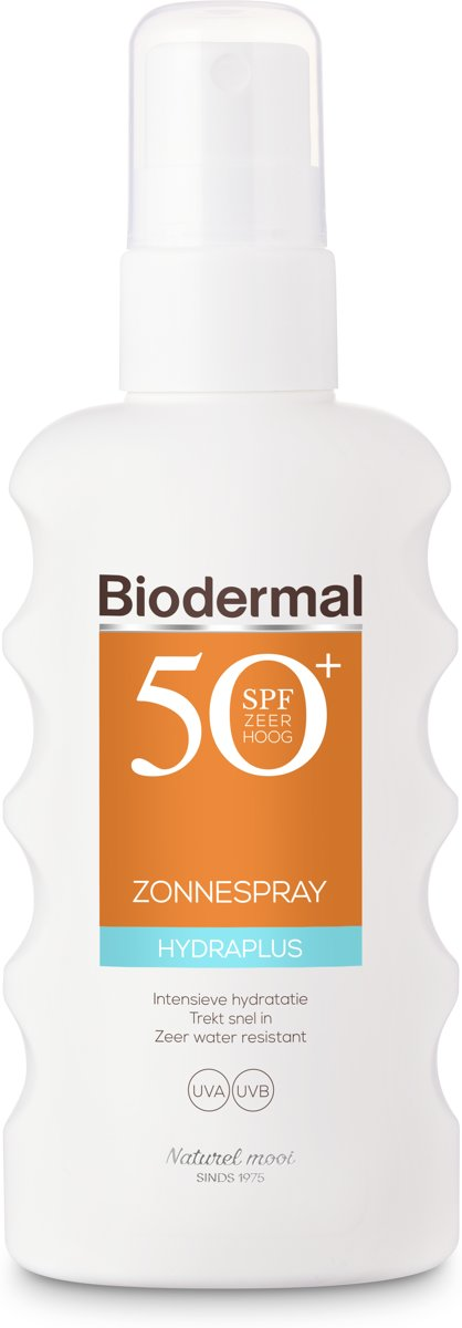 Biodermal Zonnebrand Hydraplus Zonnespray SPF 50+ 175ml