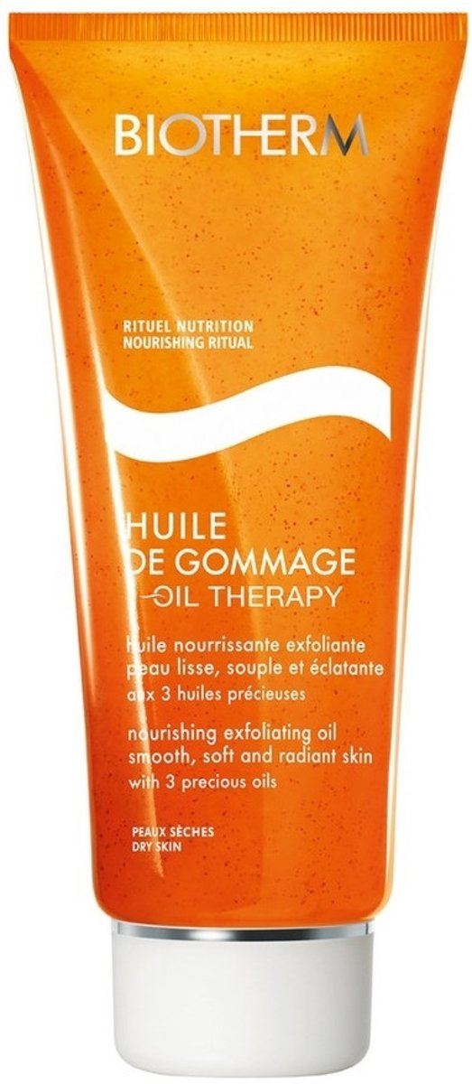 Biotherm Baume Corps Oil Therapy Nourishing Exfoliating Oil Douchegel 200 ml