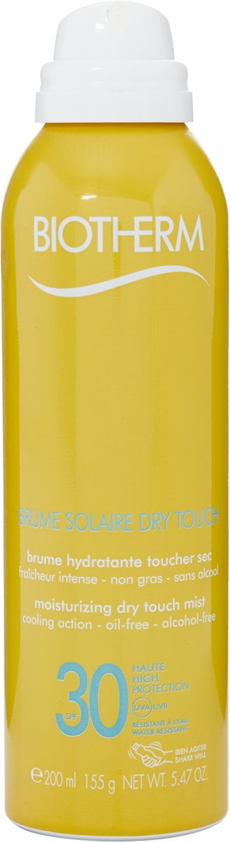 Biotherm Brume Solaire SPF 30 Moisturizing Dry Touch Mist Zonnebrand - 200 ml