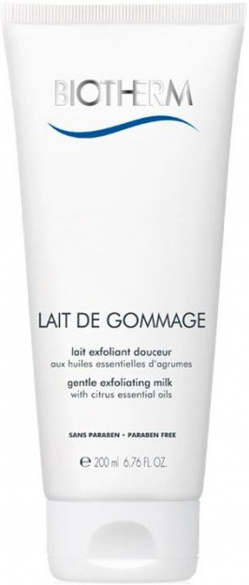 Biotherm Lait Corporel Lait de Gommage - Gentle Exfoliating Milk Smoothes and Softens the Skin Bodyscrub 200 ml