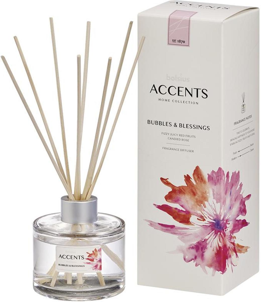 Bolsius Accents diffuser bubbles & blessings