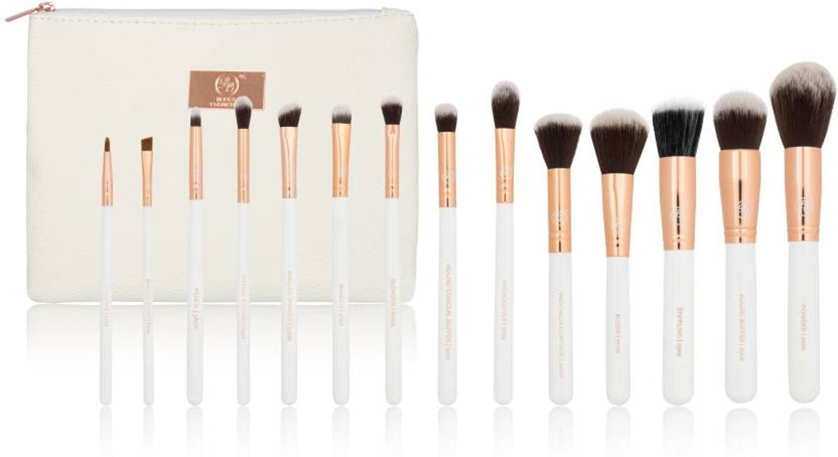Boozy Cosmetics Rose Gold 14 pc Starter Set
