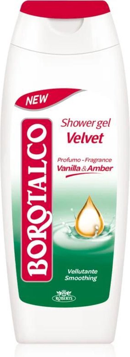 Borotalco - Velvet Shower Gel - 250 ml