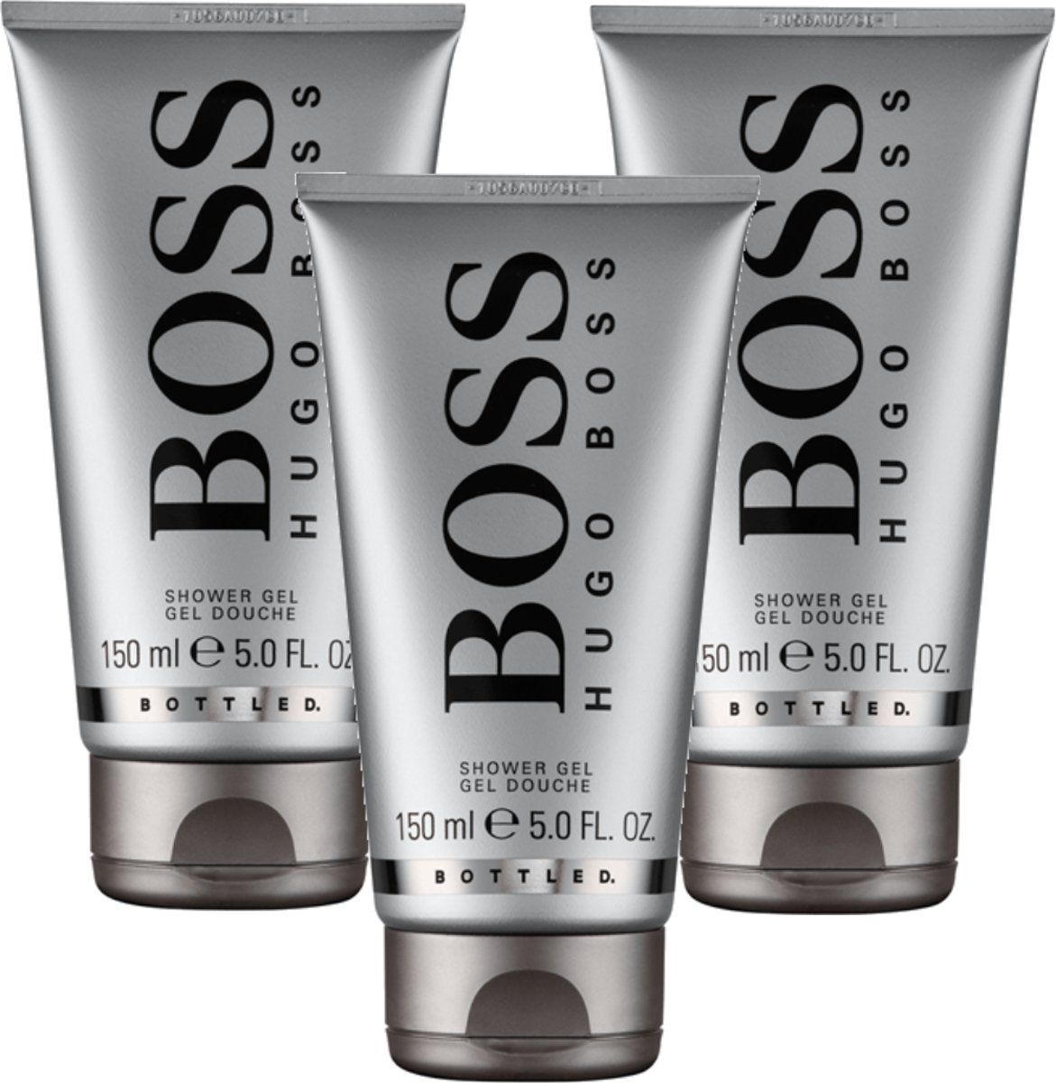 3x Boss Bottled Shower gel 150 ml