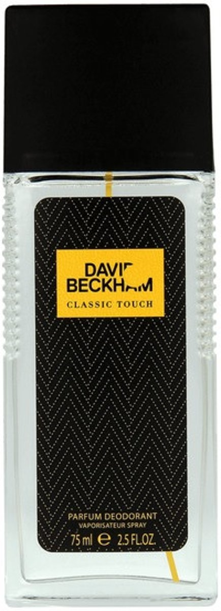 Classic Touch perfumed deodorant spray glass 75ml