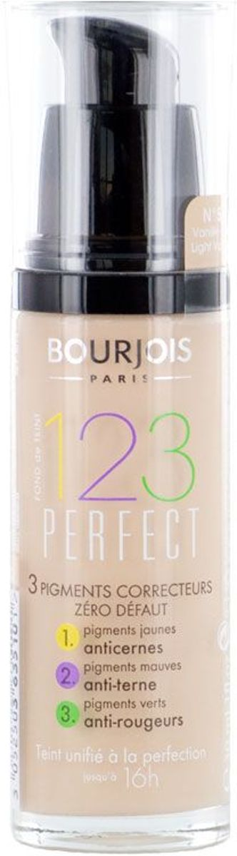 Bourjois 123 Perfect Foundation 51 Light Vanilla