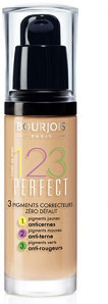 Bourjois Fond De Teint 123 Perfect Foundation - 52 Vanille