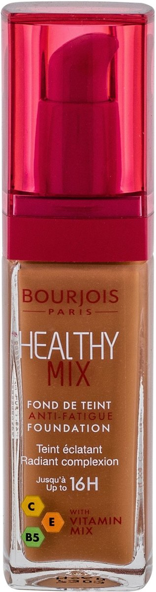 Bourjois Foundation Healthy Mix Anti-Fatigue 60 Dark Amber