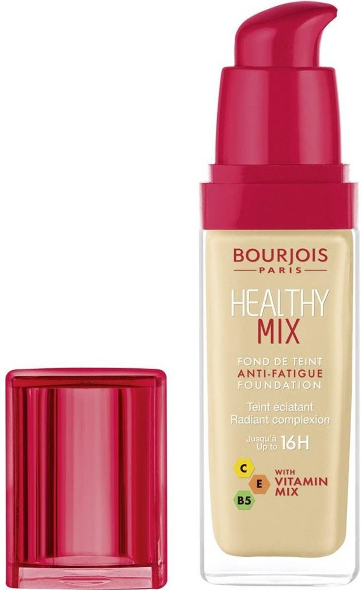 Bourjois Healthy Mix - Anti Fatigue - Foundation - 51 Light Vanilla