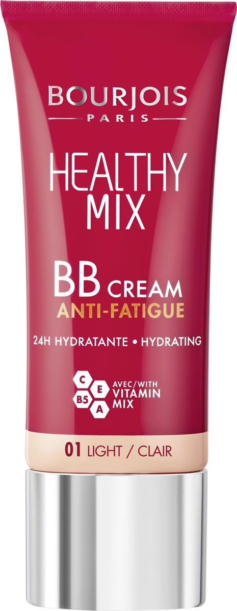 Bourjois Healthy Mix BB Cream Foundation - 01 Light - Beige