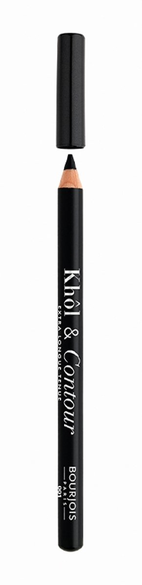 Bourjois Khol & Contour Extra Long Wear Oogpotlood - 001 Black