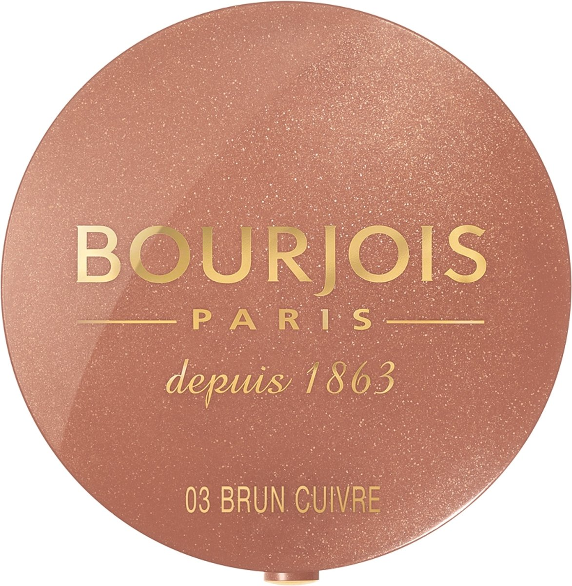 Bourjois Little Round Pot Blush - 03 Brown