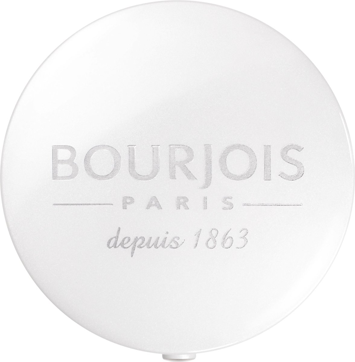 Bourjois Nieuwe Ronde Doosje Eye Shadow - 90 Blanc Diaphane