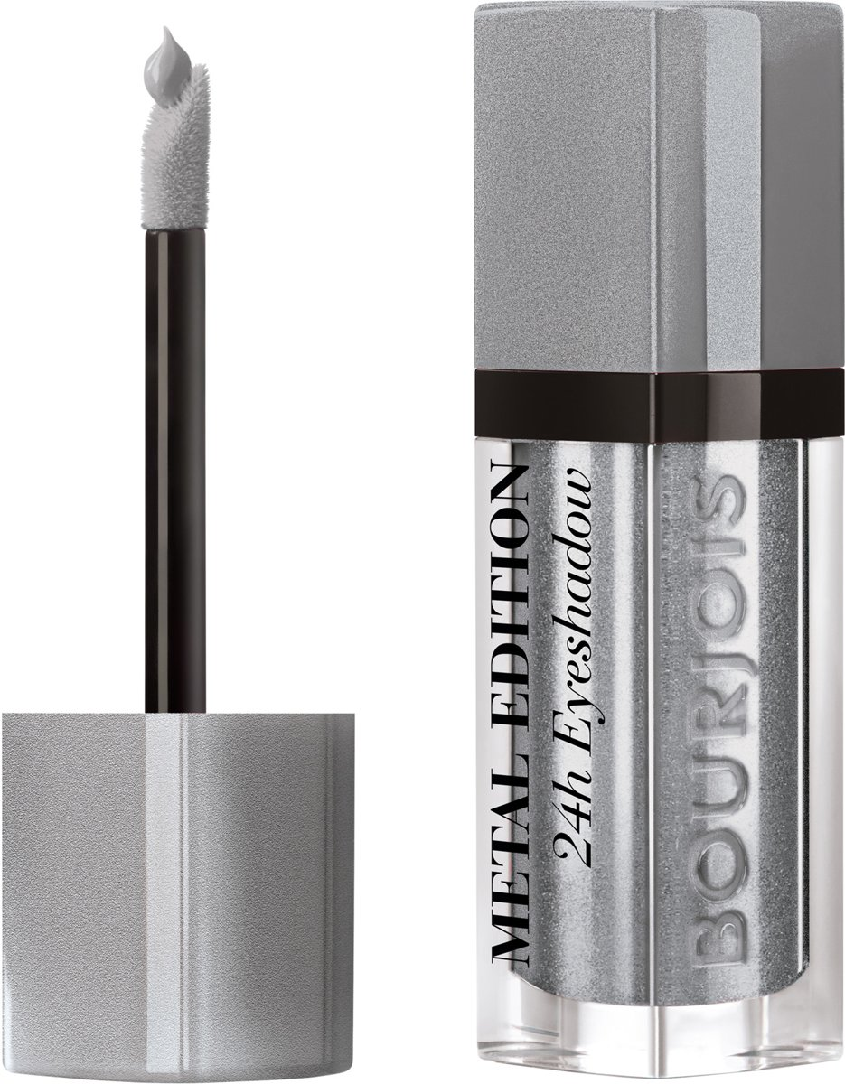 Bourjois Satin Reveal Metallic Oogschaduw - 08 Iron woman - Zilver