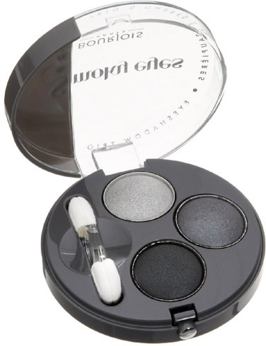 Bourjois Trio Smoky Eyes - 01 Gris Dandy