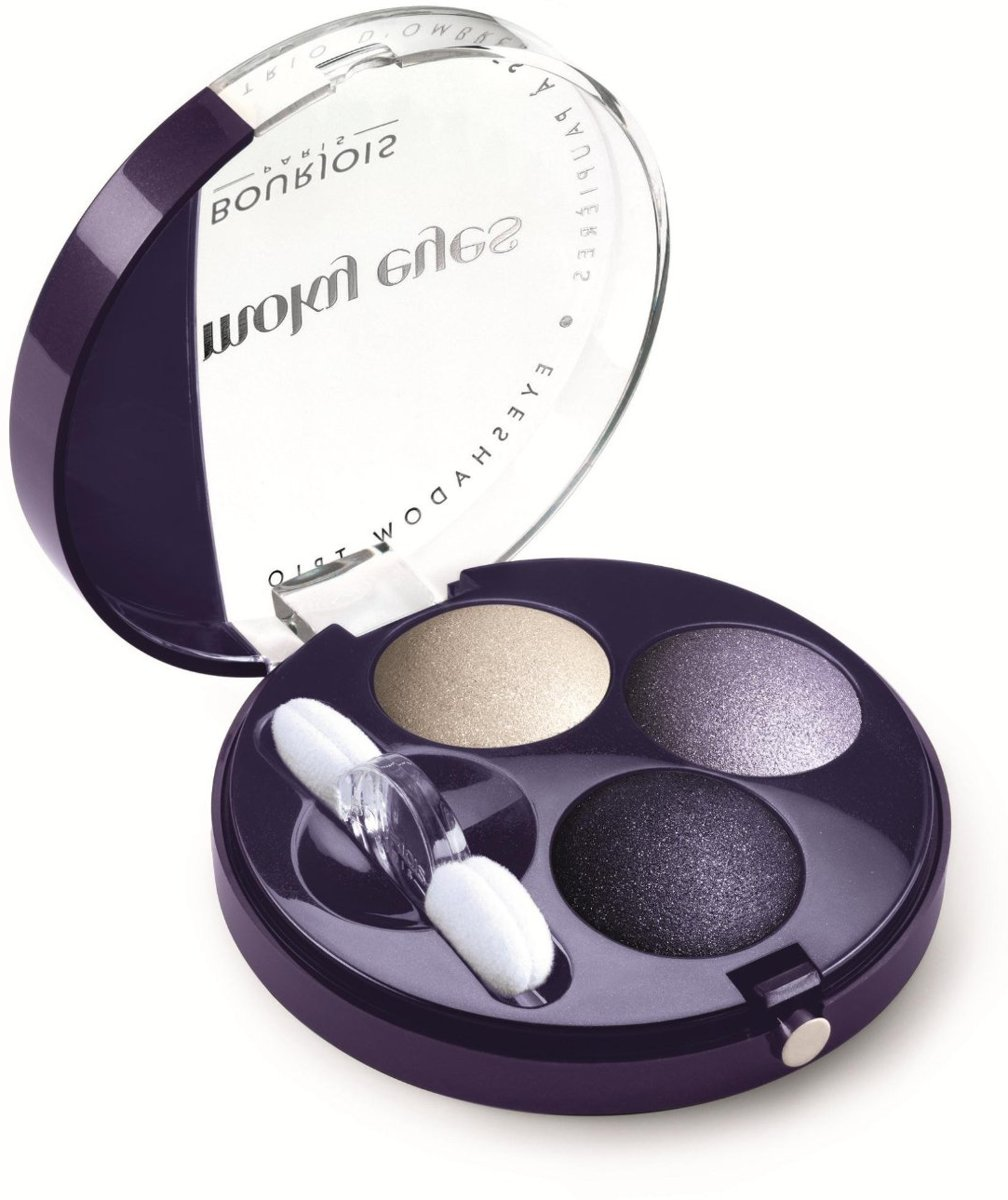 Bourjois Trio Smoky Eyes - 06 Violet Romantic