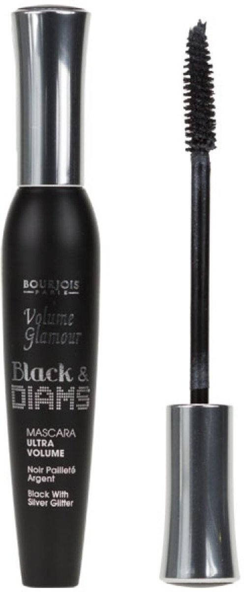 Bourjois Volume Glamour Black & Diams - 62 Noir Pallet - Zwart - Mascara