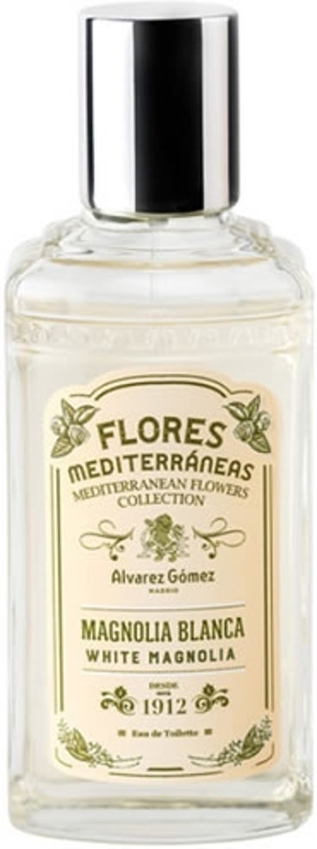 Britney Spears Alvarez Gomez Flowers Of The Mediterranean White Magnolia Eau De Toilette Spray 80ml